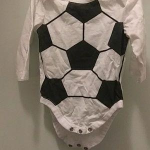 Soccer long sleeve onsie children's place